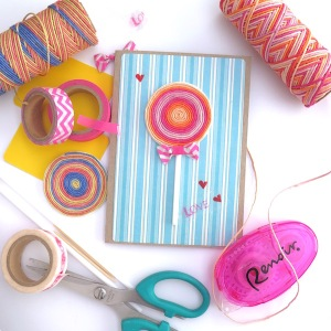 Hobby Hoppers Lollipop Card Tutorial