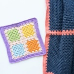 Simple Granny Square Potholder